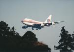 エルさんが、成田国際空港で撮影したユナイテッド航空 747SP-21の航空フォト(写真)