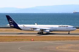 なごやんさんが、中部国際空港で撮影したルフトハンザドイツ航空 A340-313Xの航空フォト(飛行機 写真・画像)
