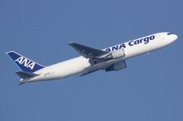 しゃこ隊さんが、香港国際空港で撮影した全日空 767-381/ER(BCF)の航空フォト(飛行機 写真・画像)