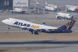 しゃこ隊さんが、香港国際空港で撮影したアトラス航空 747-45E(BDSF)の航空フォト(飛行機 写真・画像)