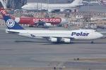 しゃこ隊さんが、香港国際空港で撮影したポーラーエアカーゴ 747-46NF/SCDの航空フォト(飛行機 写真・画像)
