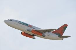 チョロ太さんが、ダニエル・K・イノウエ国際空港で撮影したトランスエア 737-2T4C/Advの航空フォト(飛行機 写真・画像)