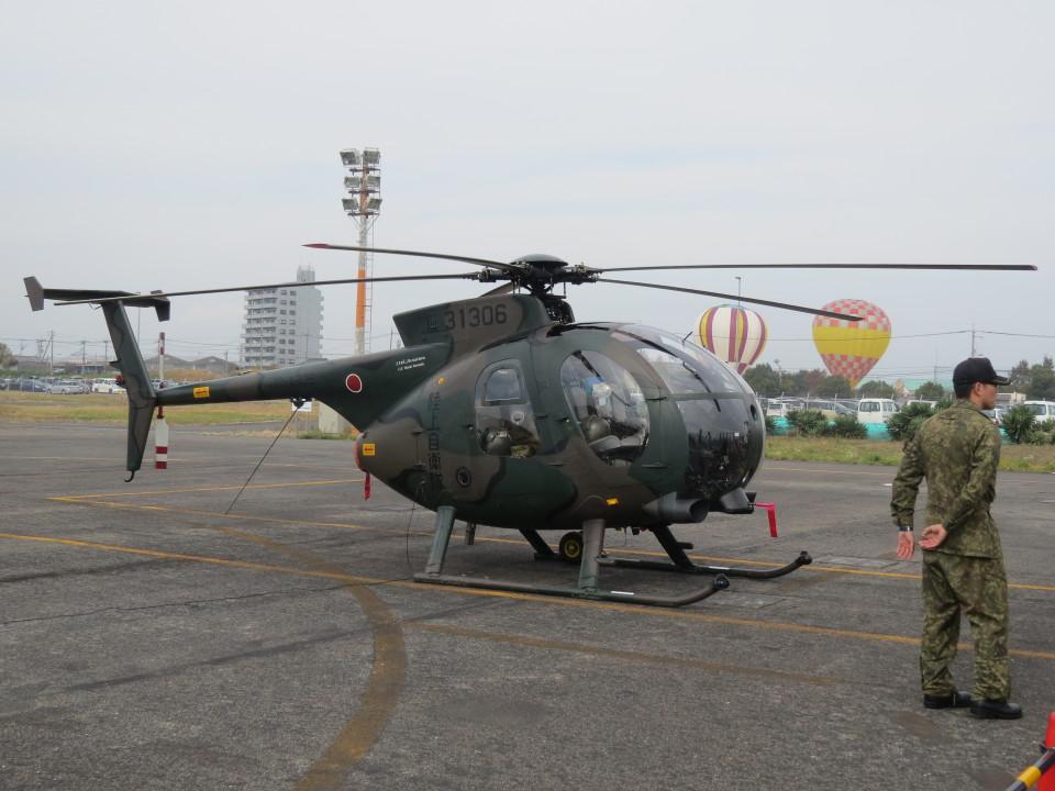 F.YUKIHIDEさんの陸上自衛隊 Kawasaki OH-6D (31306) 航空フォト