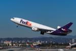 LAX Spotterさんが、ロサンゼルス国際空港で撮影したフェデックス・エクスプレス MD-10-10Fの航空フォト(写真)
