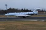 marariaさんが、青森空港で撮影したTAG エイビエーション・アジア Gulfstream G650 (G-VI)の航空フォト(飛行機 写真・画像)