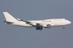しゃこ隊さんが、香港国際空港で撮影したカリッタ エア 747-4B5(BCF)の航空フォト(写真)