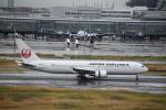 セッキーさんが、羽田空港で撮影した日本航空 767-346/ERの航空フォト(飛行機 写真・画像)