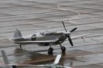 アマツさんが、花巻空港で撮影したイギリス企業所有 361 Spitfire LF9Cの航空フォト(飛行機 写真・画像)