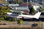 yabyanさんが、名古屋飛行場で撮影した富士航空 172RG Cutlass RG IIの航空フォト(飛行機 写真・画像)