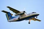 M.Tさんが、那覇空港で撮影した琉球エアーコミューター DHC-8-103Q Dash 8の航空フォト(写真)
