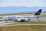 M.Tさんが、関西国際空港で撮影したタイ国際航空 747-4D7の航空フォト(写真)