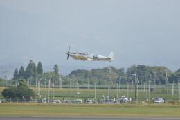 KKiSMさんが、鹿児島空港で撮影したイギリス企業所有 361 Spitfire LF9Cの航空フォト(飛行機 写真・画像)