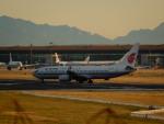 kiyohsさんが、北京首都国際空港で撮影した中国国際航空 737-89Lの航空フォト(写真)