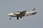 kumagorouさんが、仙台空港で撮影した本田航空 58 Baronの航空フォト(飛行機 写真・画像)