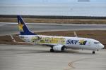 空が大好き!さんが、神戸空港で撮影したスカイマーク 737-8FHの航空フォト(写真)