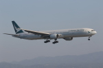endress voyageさんが、関西国際空港で撮影したキャセイパシフィック航空 777-367の航空フォト(飛行機 写真・画像)
