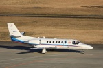 garrettさんが、仙台空港で撮影した朝日新聞社 560 Citation Encoreの航空フォト(写真)