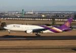 garrettさんが、仙台空港で撮影したタイ国際航空 777-2D7の航空フォト(写真)