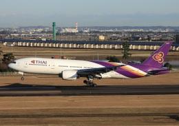 garrettさんが、仙台空港で撮影したタイ国際航空 777-2D7の航空フォト(飛行機 写真・画像)