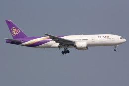 しゃこ隊さんが、香港国際空港で撮影したタイ国際航空 777-2D7/ERの航空フォト(飛行機 写真・画像)