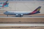 OMAさんが、仁川国際空港で撮影したアシアナ航空 747-446(BDSF)の航空フォト(飛行機 写真・画像)