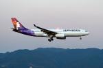 kopさんが、福岡空港で撮影したハワイアン航空 A330-243の航空フォト(飛行機 写真・画像)