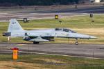 Enfield_ROKさんが、江陵飛行場で撮影した大韓民国空軍 F-5E Tiger IIの航空フォト(飛行機 写真・画像)