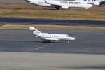 スポット110さんが、羽田空港で撮影したプライベートエア Hawker 800の航空フォト(飛行機 写真・画像)