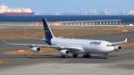 ねぎぬきさんが、中部国際空港で撮影したルフトハンザドイツ航空 A340-313Xの航空フォト(写真)