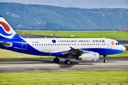 CKG_Gaoさんが、重慶江北国際空港で撮影した重慶航空 A319-133の航空フォト(飛行機 写真・画像)
