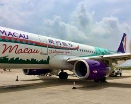 CKG_Gaoさんが、マカオ国際空港で撮影したマカオ航空 A321-231の航空フォト(飛行機 写真・画像)