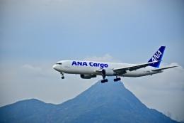 CKG_Gaoさんが、香港国際空港で撮影した全日空 767-381/ER(BCF)の航空フォト(飛行機 写真・画像)