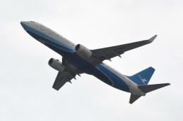 kuro2059さんが、香港国際空港で撮影した厦門航空 737-85Cの航空フォト(写真)