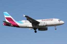 航空フォト:D-AGWX ユーロウイングス A319