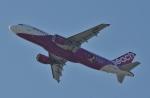 鉄バスさんが、関西国際空港で撮影したピーチ A320-214の航空フォト(飛行機 写真・画像)