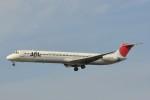 kumagorouさんが、仙台空港で撮影した日本航空 MD-81 (DC-9-81)の航空フォト(飛行機 写真・画像)