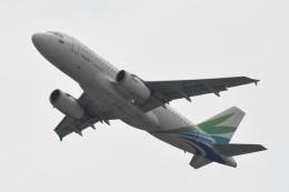 kuro2059さんが、香港国際空港で撮影したランメイ・エアラインズ A319-131の航空フォト(写真)