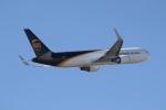 ANA744Foreverさんが、成田国際空港で撮影したUPS航空 767-34AF/ERの航空フォト(飛行機 写真・画像)