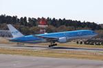 ANA744Foreverさんが、成田国際空港で撮影したKLMオランダ航空 777-206/ERの航空フォト(飛行機 写真・画像)