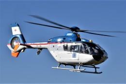 ヘリオスさんが、東京ヘリポートで撮影した産経新聞社 EC135T1の航空フォト(飛行機 写真・画像)
