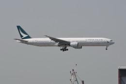 kuro2059さんが、香港国際空港で撮影したキャセイパシフィック航空 777-367の航空フォト(写真)