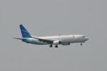 kuro2059さんが、香港国際空港で撮影したガルーダ・インドネシア航空 737-8U3の航空フォト(飛行機 写真・画像)