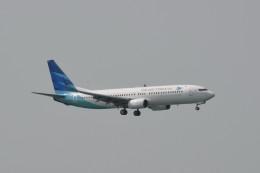 kuro2059さんが、香港国際空港で撮影したガルーダ・インドネシア航空 737-8U3の航空フォト(写真)