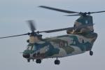 ヨッちゃんさんが、茨城空港で撮影した航空自衛隊 CH-47J/LRの航空フォト(写真)