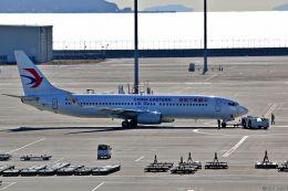 Jin Bergqiさんが、中部国際空港で撮影した中国東方航空 737-89Pの航空フォト(飛行機 写真・画像)