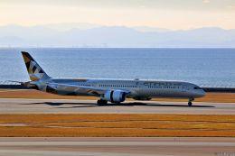 Jin Bergqiさんが、中部国際空港で撮影したエティハド航空 787-10の航空フォト(飛行機 写真・画像)