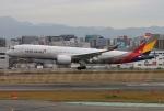 kan787allさんが、福岡空港で撮影したアシアナ航空 A350-941XWBの航空フォト(写真)