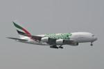 kuro2059さんが、香港国際空港で撮影したエミレーツ航空 A380-861の航空フォト(飛行機 写真・画像)