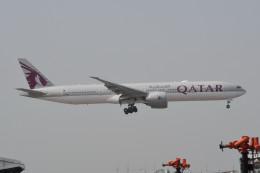 kuro2059さんが、香港国際空港で撮影したカタール航空 777-3DZ/ERの航空フォト(写真)