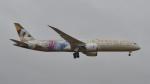 flytaka78さんが、成田国際空港で撮影したエティハド航空 787-9の航空フォト(写真)